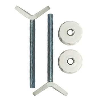 2 Pack, 8mm Sungrace U Spindle M8 Banister Gate Adaptors for Pressure Mounted Baby Gates