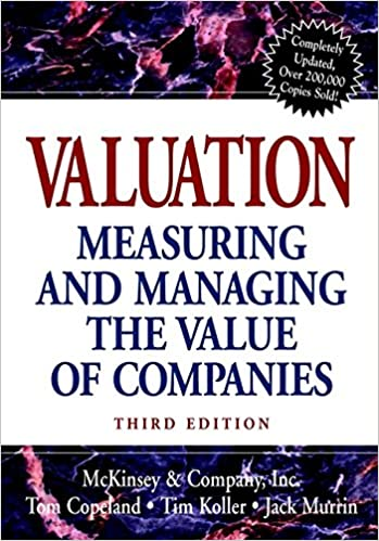 foto de Amazon.com: Valuation: Measuring and Managing the Value of ...