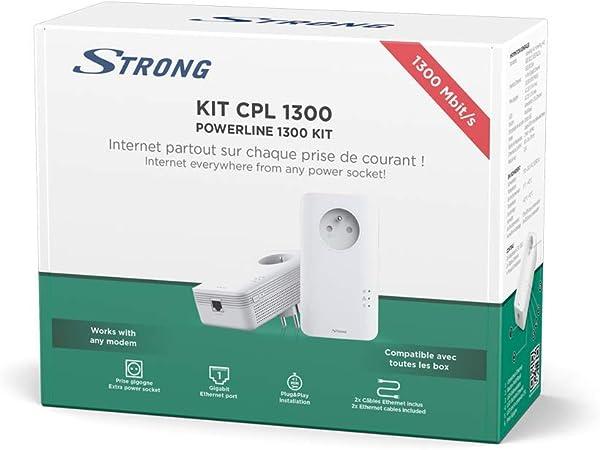 Strong Cpl 1300 Mbps Set Mit 2 Adaptern Cpl Mit Computer Zubehör