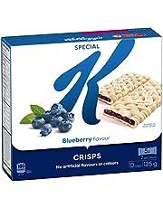 Kellogg's Special K Fruit Crisps, Blueberry Flavour 10 Crisps, 125g box