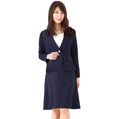 (アッドルージュ) AddRouge スーツ レディース 2点セット ジャケット スカート 洗える 春夏 クールビズ【b5227】