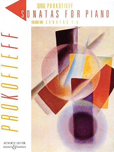 Prokofiev: Piano Sonatas - Volume 1 (Nos. 1-5) ()