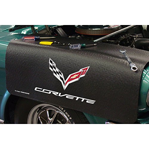 Drake CarBeyondStore - Corvette C-7 Black Fender Gripper - Corvette Covers Fender