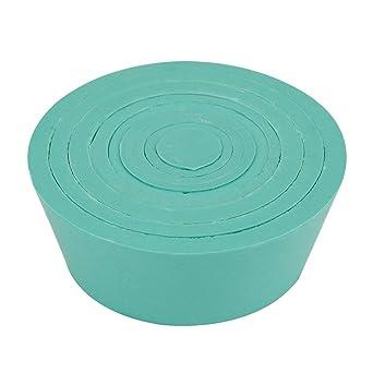 Filtro compatibile per coni set Buchner imbuto Matraccio adattatore set stopper Buchner imbuto Matraccio filtrazione set conico verde buona elasticit/à liscia superficie resistente