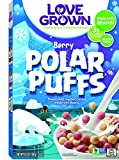 Love Grown Polar Puffs Cereal, 6.5oz. Box, 6-pack