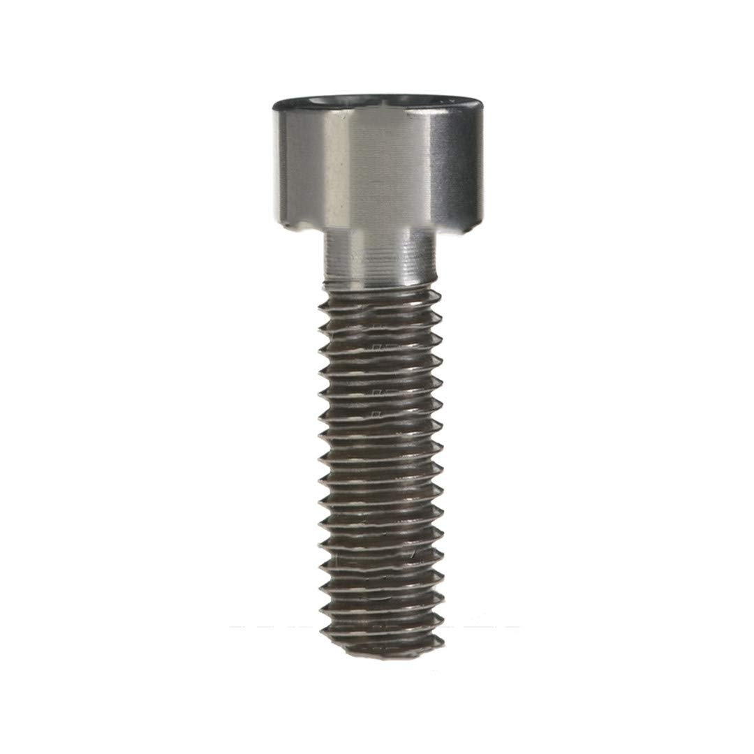 Titanium Ti Bolts M5 X 10 12 16 18 20 25 30 35 40 45 50 55 60Mm Allen Key Square Head Screw For Bicycle Stem Seatpost Original M5 40mm by NSSTK