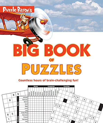 Puzzle Baron's Big Book of Puzzles: Countless Hours of Brain-Challenging Fun!]()
