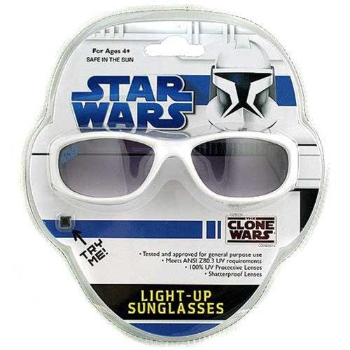 Stars Wars The Clone Wars Light-Up - Sunglasses War