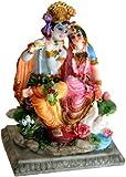 Attractive Radha Krishna Asana Statue