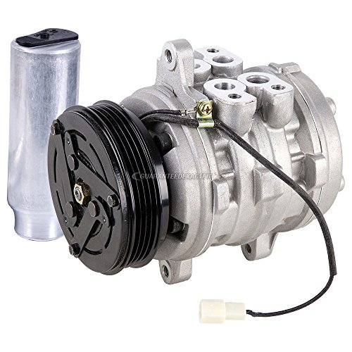 AC Compressor w/A/C Drier For Geo Metro Tracker & Suzuki Sidekick - BuyAutoParts 60-88746R2 New