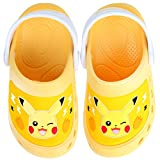 Joah Store Pokemon Character Slippers Clog Mule EVA Shoes for Boys Girls (13 M US Little Kid, Pikachu)