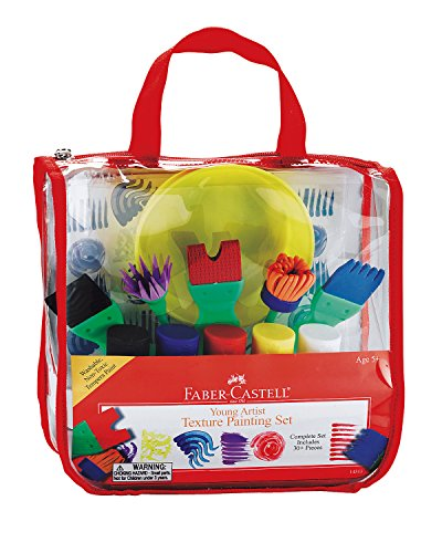 Faber-Castell - Young Artist Texture Painting Set - Premium Art Supplies For Kids (Texture Set)