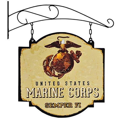Old Tavern Sign - Winning Streak US Marine Corps Vintage Tavern Sign