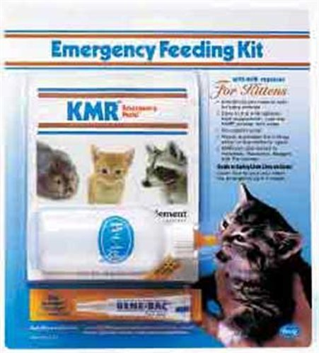 PetAg Kitten Milk Replacer (KMR) Emergency Feeding Kit, My Pet Supplies