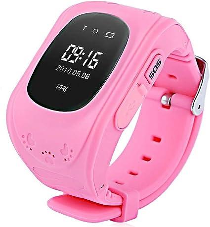Amazon.com: Reloj inteligente para niños, con GPS, con ...