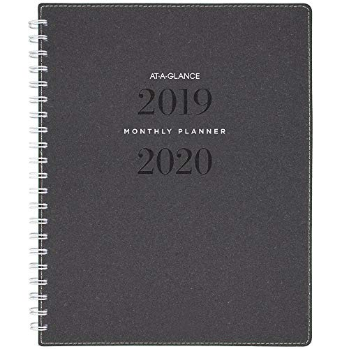 AT-A-GLANCE 2019-2020 Academic Year Monthly Planner, Large, 8-1/2