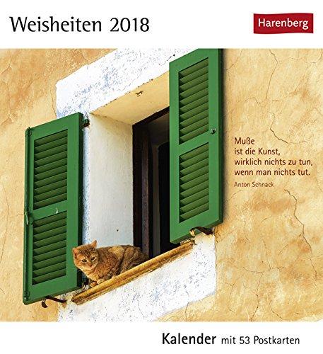 Cartoline Ch Calendario.Cartolina Calendario Weisheiten Calendario 2018 Haren