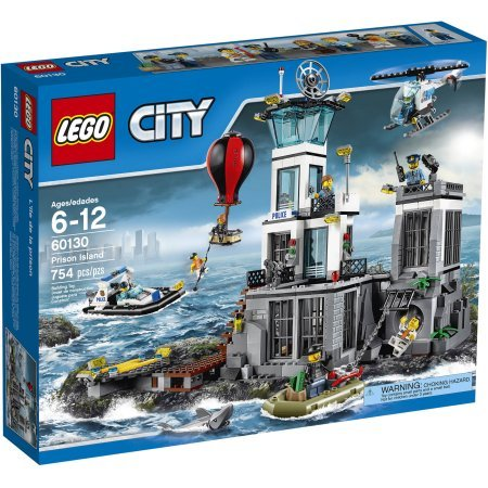 LEGO City Police Prison Island, Make Your Own Police Station, Comes