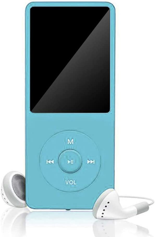 Festnight MP3 unterst/ützen 64 GB TF-Speicherkarte Nicht im Lieferumfang MP4-Player Musik-Player 1,8-Zoll-Bildschirm Tragbarer UKW-Radio-Sprachaufzeichnung Nicht-Bluetooth-Modelle mit Headset