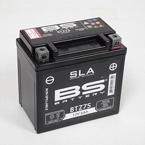 Batterie BS Battery Moto Honda 125 Xl V Varadero 2001-2016 YTZ7-S 12V 6Ah Neuf
