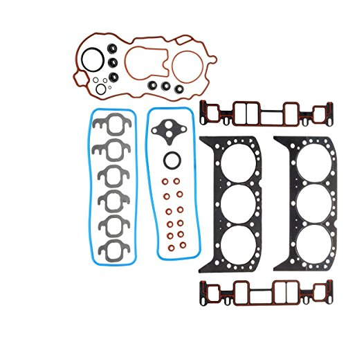 Head Gasket Set Fits For GMC JIMMY 4.3L 262CID V6 OHV VIN W X by Vincos