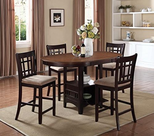 5pc-counter-height-dining-table-and-stools-set-light-chestnut-espresso-finish