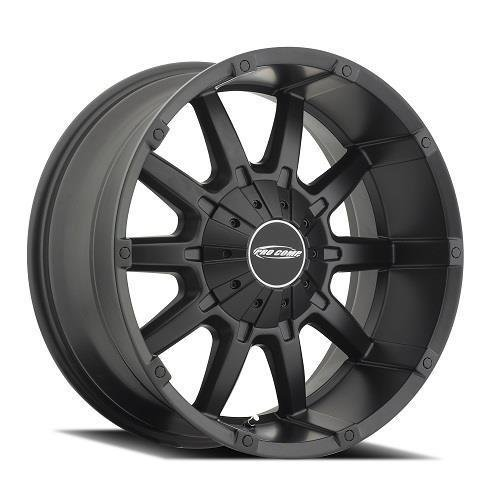Pro Comp Alloys Series 50 10 Gauge Wheel with Satin Black Finish (20x9