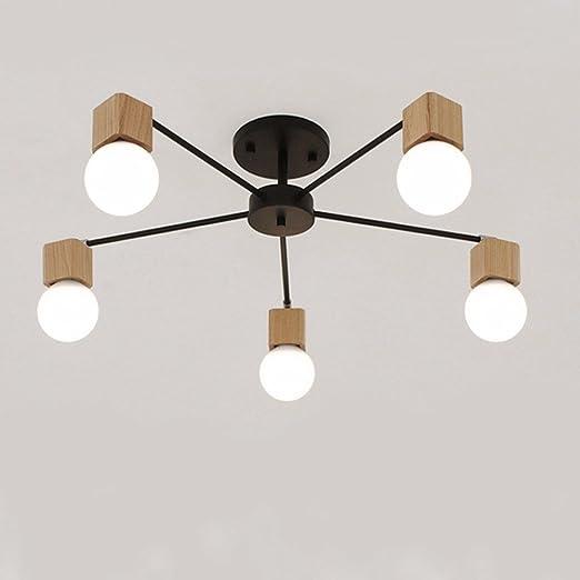 Nordic personalidad creativa de madera sólida vida ...