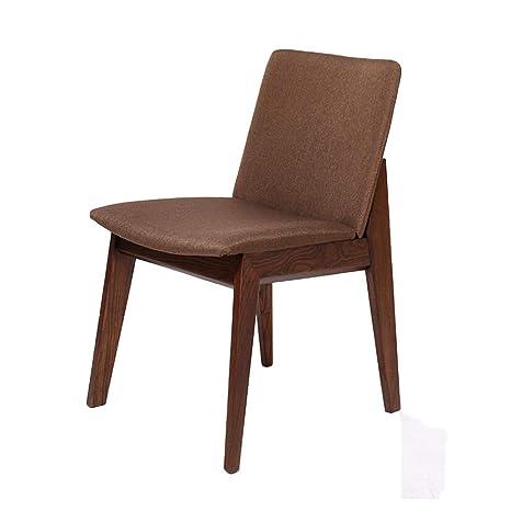 TT&D CJC Juego de 2 imitaciones de Cuero, sillas Laterales ...