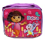 Pink Dora the Explorer Skipping Lunch Box Bag