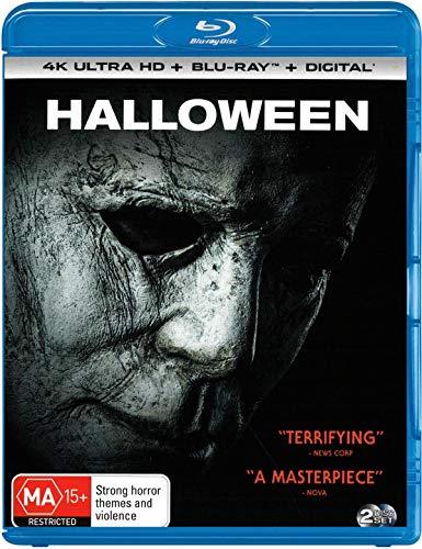 Halloween 4K UHD / Blu-ray | 2018 Version | NON-USA Format | Region B Import - Australia]()