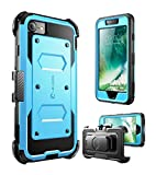 iPhone 7 Case, iPhone 8 Case [Armorbox] i-Blason Built in [Screen Protector] [Full Body] [Heavy Duty Protection ] Shock Reduction/Bumper Case for Apple iPhone 7/iPhone 8 (Blue)
