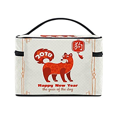 7d2074a07c1e best Happy Chinese New Year 2018 Of The Dog Travel Makeup Toiletry ...