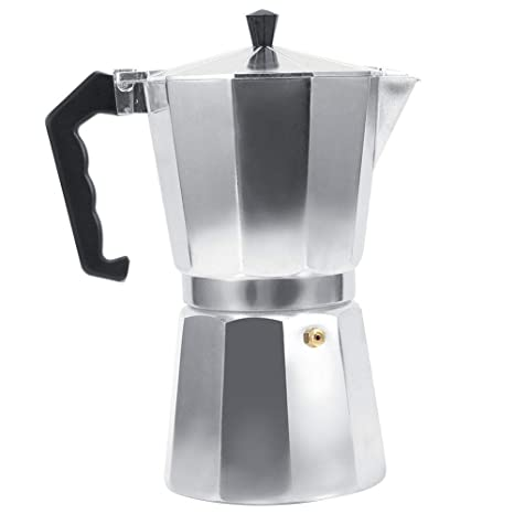 Moka Express Coffee Maker, italiana Moka Coffee Maker 3/6/9/12 Tazas Moka Coffee Pot para cocina, oficina, hogar.(600ml)