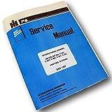 International Farmall 656 660 Tractor Gas Engine Service Repair Manual Ih Lpg Lp