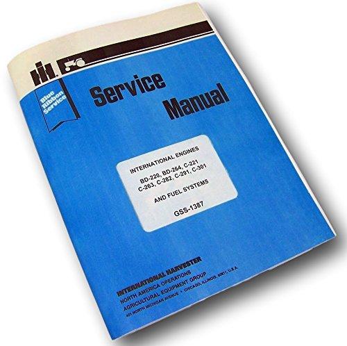 international harvester farmall ih 660 tractor repair shop maintenance manual download