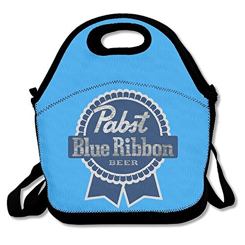 Pabst Blue Ribbon Insulated Lunch Bag/ Backpack / Tote Wi...