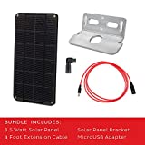 Voltaic Systems Rapid Solar Panel Charger for Ring Security Camera | Includes 2 Year Warranty