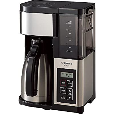 (Ship from USA) Zojirushi EC-YSC100 Fresh Brew Plus Thermal Carafe Coffee Maker, 10 Cup, /ITEM NO#8Y-IFW81854176006