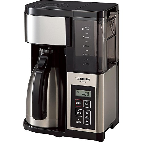 (Move from USA) Zojirushi EC-YSC100 Fresh Brew Plus Thermal Carafe Coffee Maker, 10 Cup, /ITEM NO#8Y-IFW81854176006