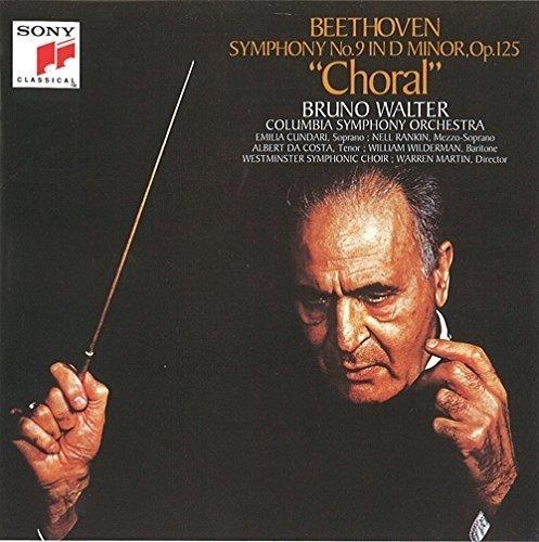 CD : Bruno Walter - Beethoven: Symphony No. 9 (Japan - Import)