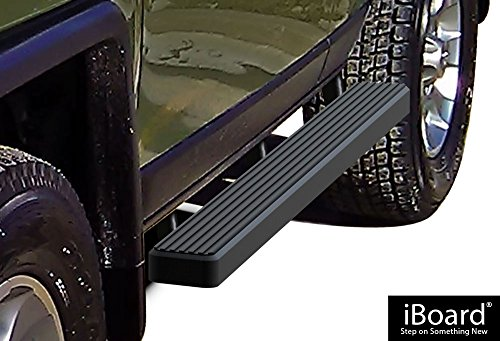 APS IB-T4101B Matte Black iBoard Bolt Over for select Toyota FJ Cruiser