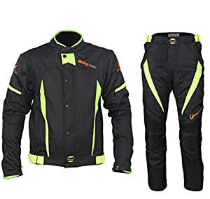 Motorcycle Winter Warm Jacket Pants Suit Motocross Racing Protective Armor, XL