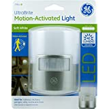 GE 29844 Ultra Brite Motion-Activated LED Light, Silver