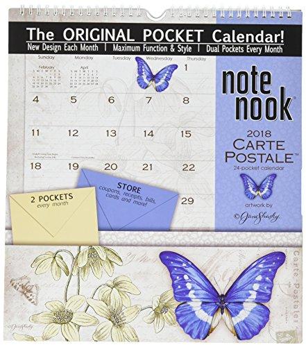 Wells Street by LANG - 2018 Note Nook Wall Calendar -