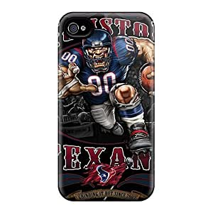 Cnl1907LOYg Cases Covers Protector Case For Sumsung Galaxy S4 I9500 Cover Houston Texans Cases