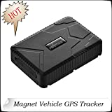 Vehicle GPS Car Tracker Anti-Lost 10000mAh Rechargeable Battery 120 Days Long Standby GSM and GPS Dual Mode accurate Positioning Waterproof TK915