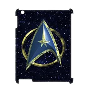 YUAHS(TM) Personalized 3D Hard Back Phone Case for Ipad 2,3,4 with star trek logo YAS947842
