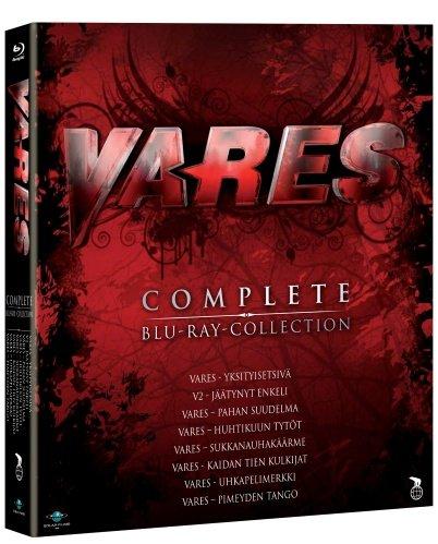 Vares Collection - 8-Disc Box Set ( Vares - yksityisetsivä / Vares 2 - Jäätynyt enkeli / Vares - Pahan suudelma / Vares - Huhtikuun tytöt / Vares - Sukkanauhakä [ Blu-Ray, Reg.A/B/C Import - Finland ]