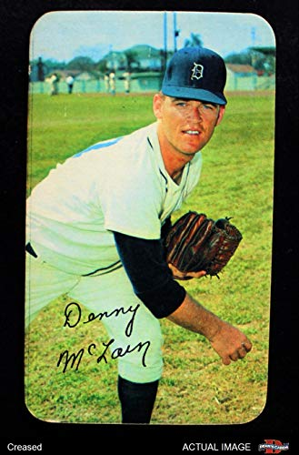 Tigers Mclain Detroit Denny (1970 Topps Super # 17 Denny McLain Detroit Tigers (Baseball Card) Dean's Cards 3 - VG Tigers)